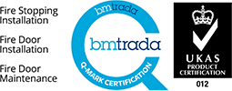 BMTRADA Q-Mark Fire Stopping Installation