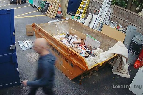 commercial cctv kits cause blurry image
