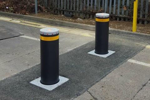 Parking bollards stop car thieves Essex