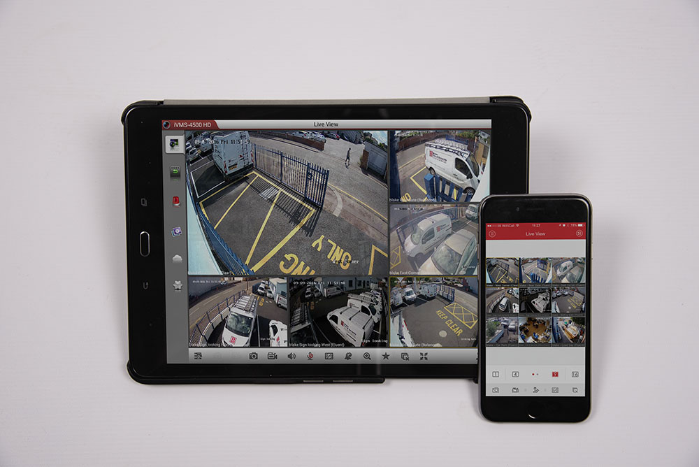 business and home CCTV viewing app