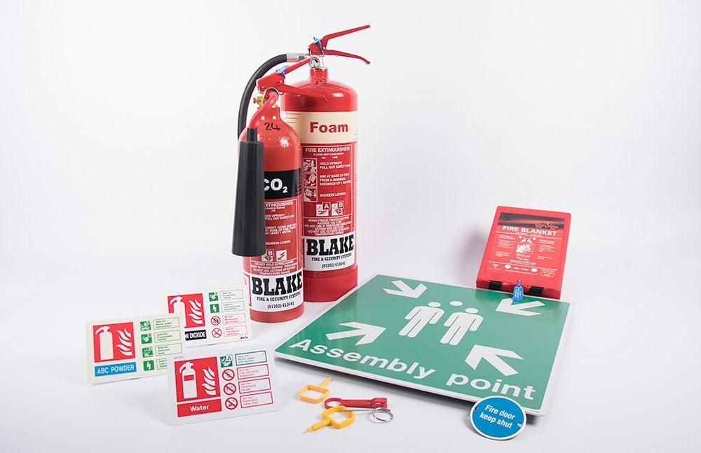 Fire Extinguishers and Emergency Signage
