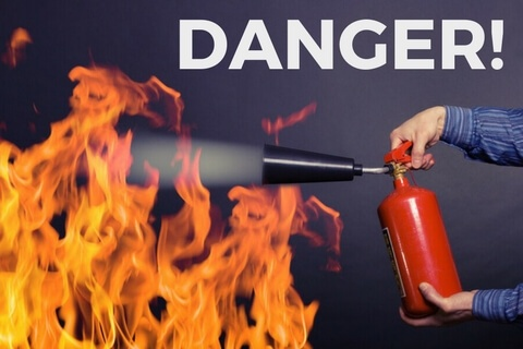 the risk of neglecting fire extinguisher maintenance