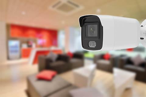 Home cctv burglar deterrent