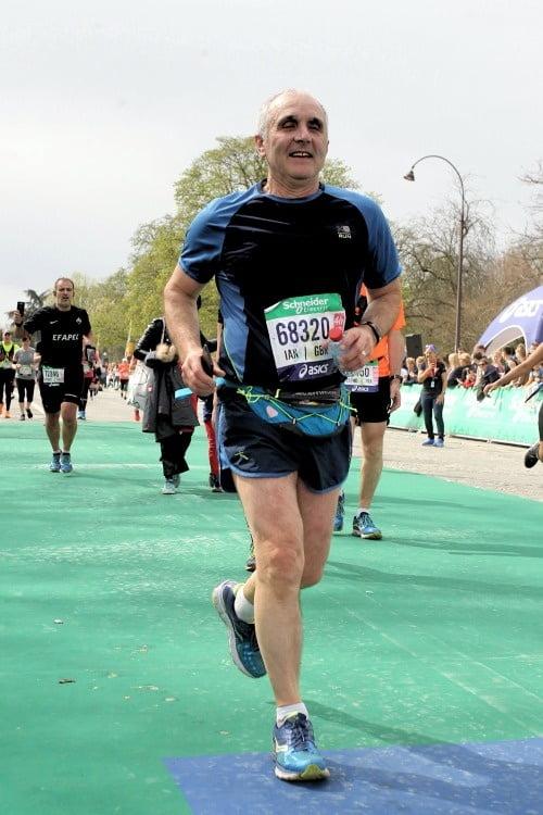 Ian approaching finish line