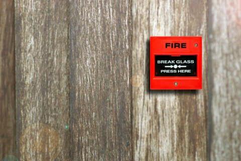 addressable fire alarm system device