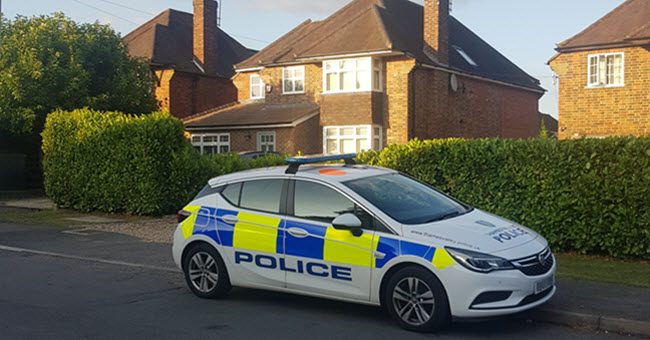 Police response to security alarm in Essex