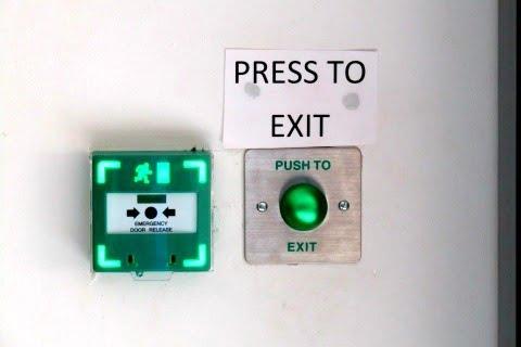 Push To Exit Access Control in Borehamwood