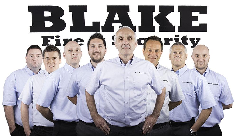 Blake for commercial fire alarm maintenance