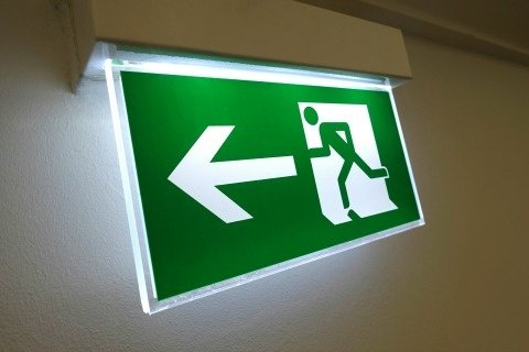 emergency lights installation