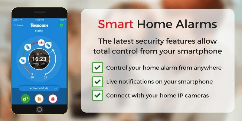 Smart Home Alarms