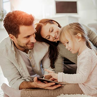 Home security systems for a happy family