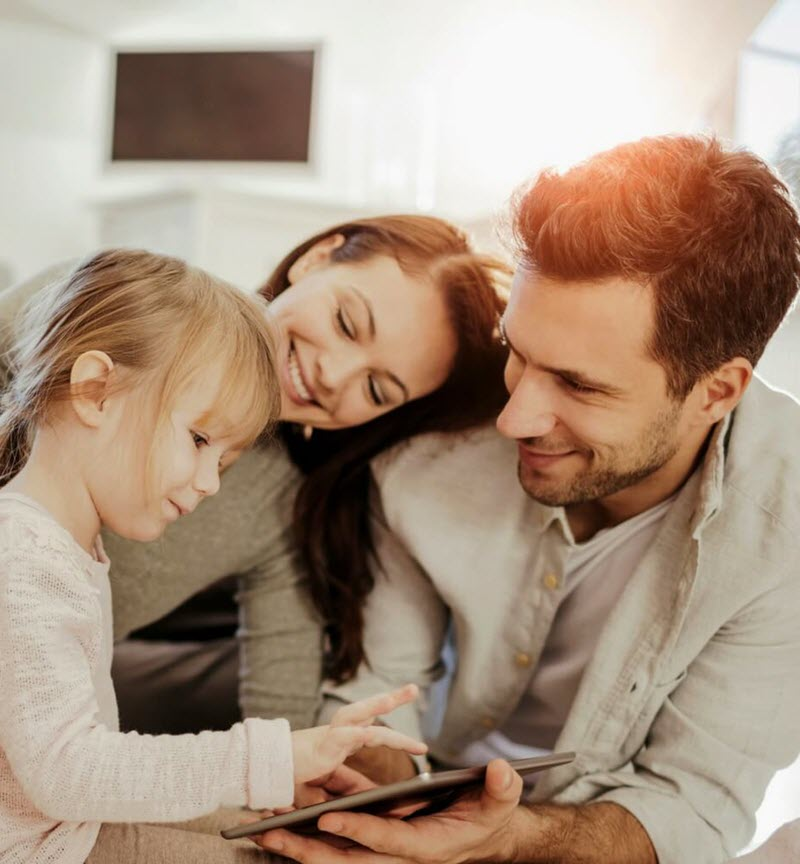 Family Home Alarm System Starter