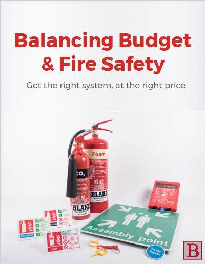 Balancing Budget & School Fire Safety
